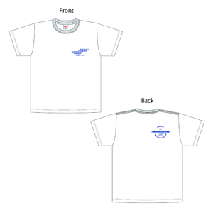 マニア限定オリジナルTシャツ(白・青)